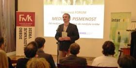 Uvodna reč, Zoran Hamović predsednik udruženja Biblioteka plus